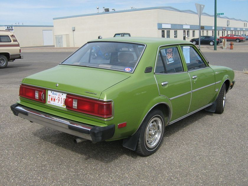 1978 Plymouth Colt-rear