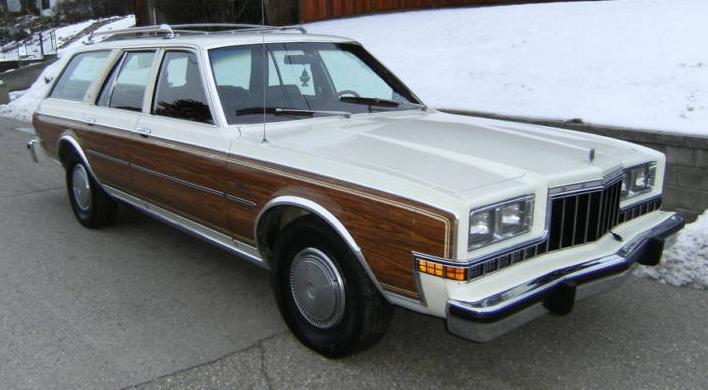 1980 Dodge Diplomat station wagon