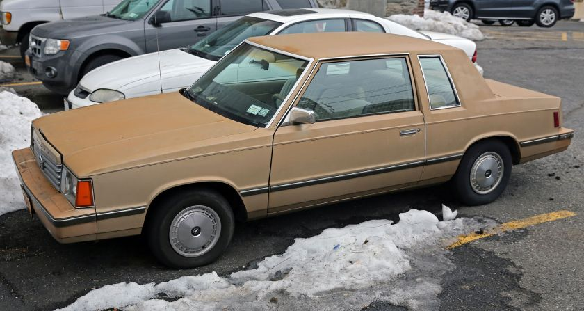 1982–84 Dodge Aries coupé