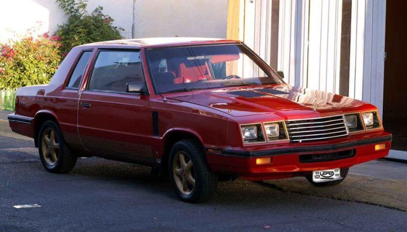 1983-88 Chrysler Magnum Mexico