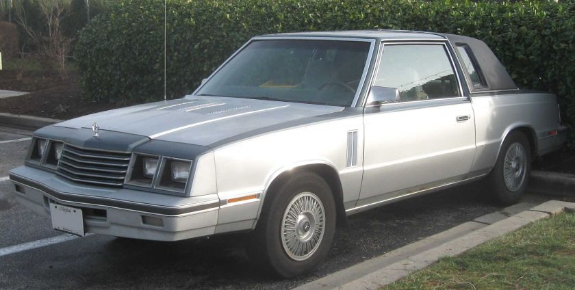 1983–85 Dodge 600 coupe