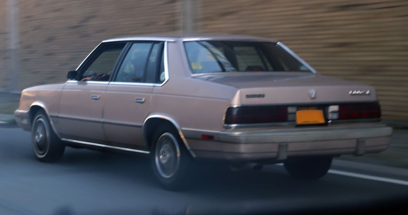 1986-88 Dodge 600 SE sedan