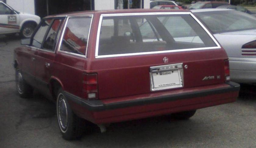 1986–88 Dodge Aries wagon