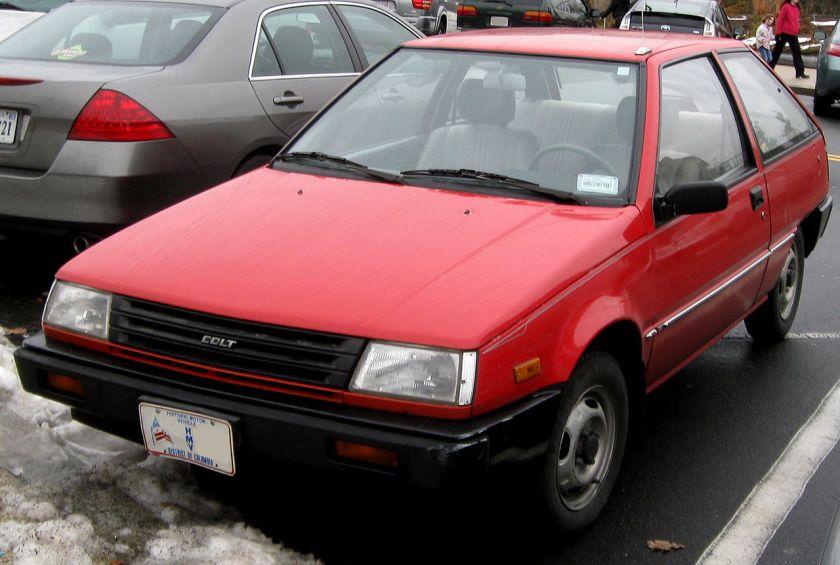1987-88 Dodge-Plymouth-Mitsubishi Colt