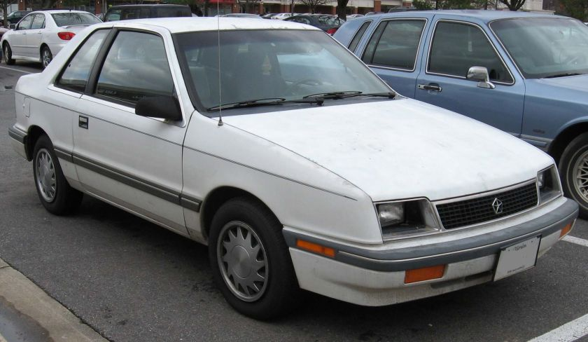 1987-88 Plymouth Sundance 3-door