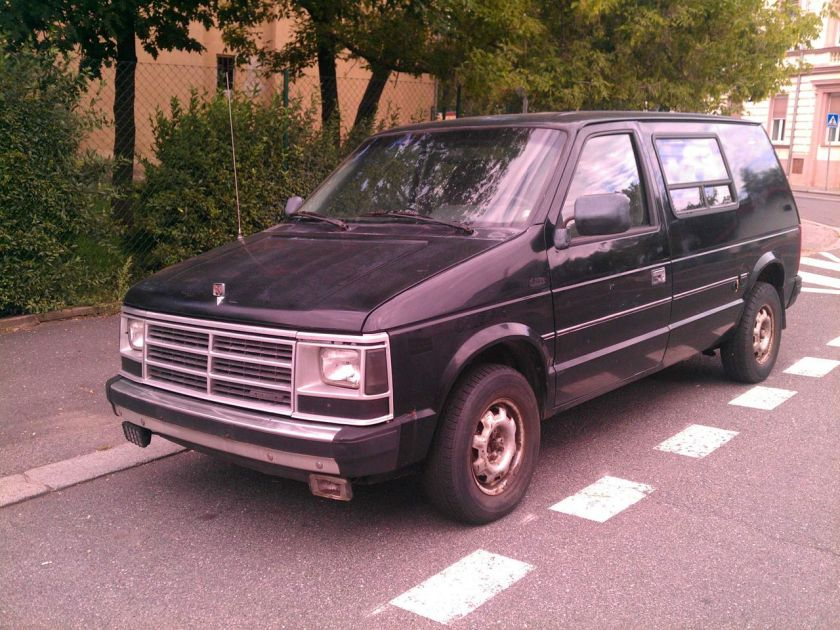 1987–88 Dodge Mini Ram Van