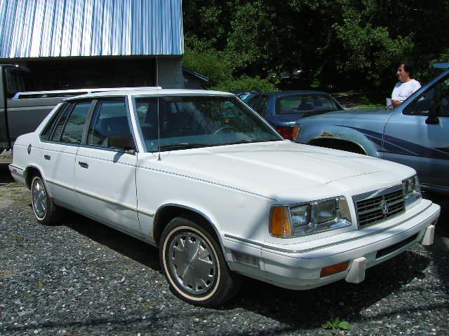 1988 Dodge 600 sedan
