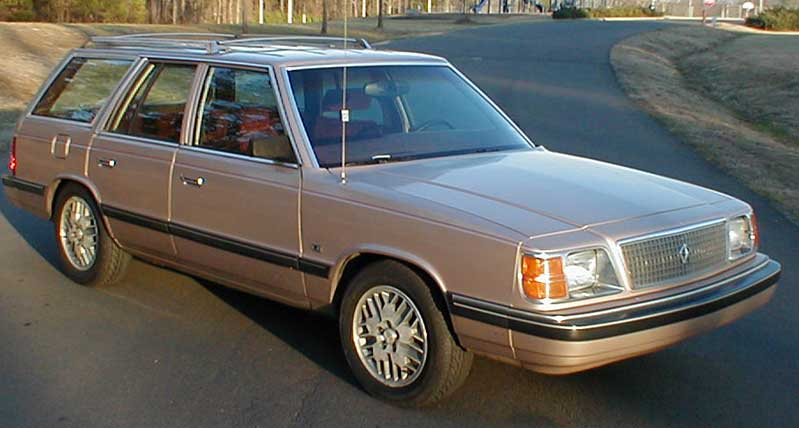 1988 Plymouth Reliant wagon