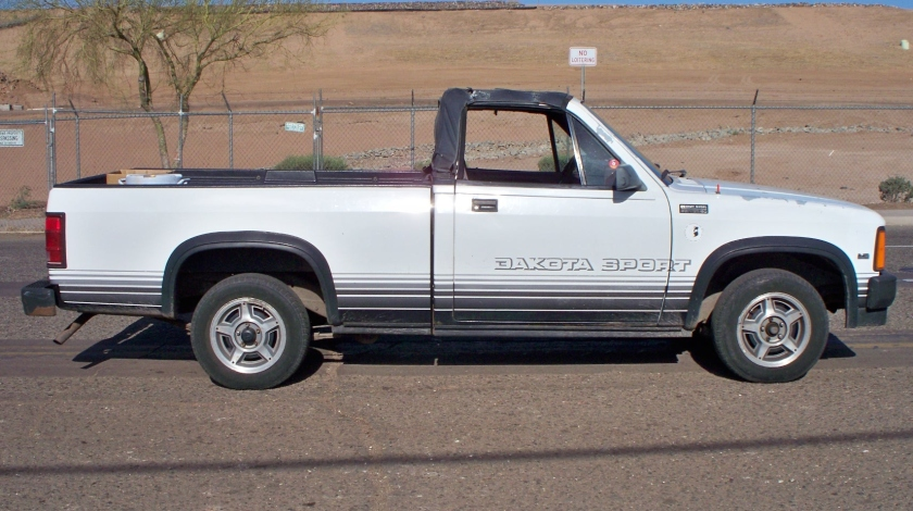 1989 Dakota Sport convertible