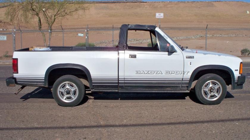 1989 Dakota Sport convertible