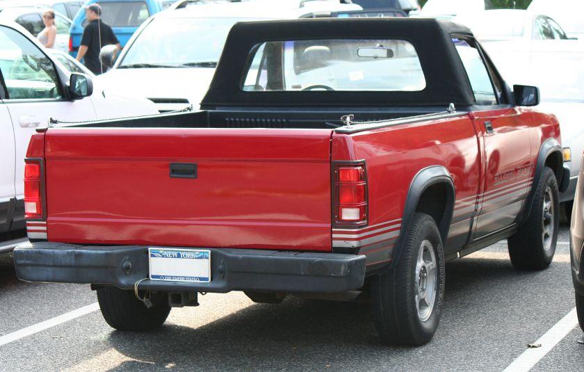 1989 Dodge Dakota Sport convertible
