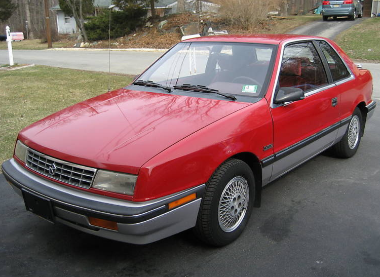 1989 Plymouth Sundance RS