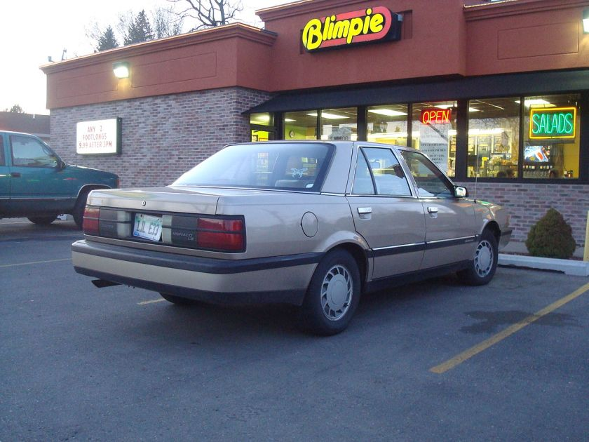 1990–92 Dodge Monaco LE