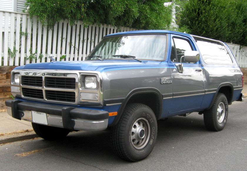 1991-93 Dodge Ramcharger