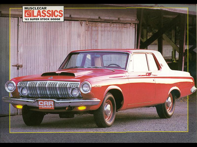 1st 1963 Dodge 330 Red-7