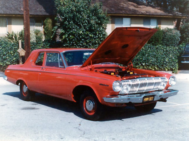 1st 1963 Dodge 330 Red