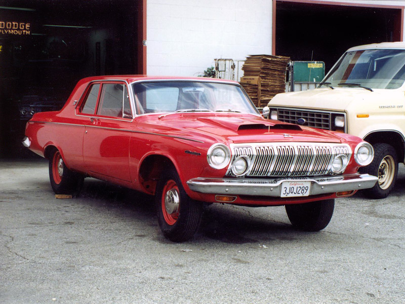 1st 1963 Dodge Red-3