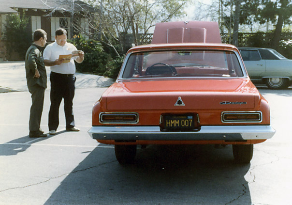 1st 63 Dodge 330 Red-2