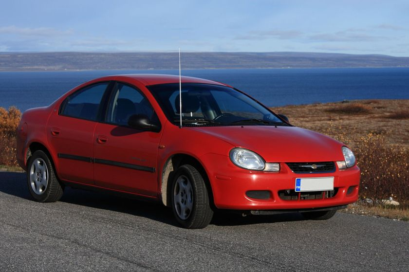2001 Chrysler Neon, model year 2001 (Finnish made)