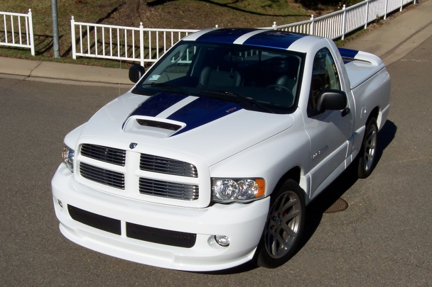 2005 Dodge Ram SRT-10 Commemorative Edition.