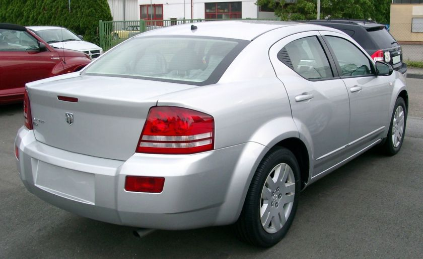 2008-10 Dodge Avenger rear