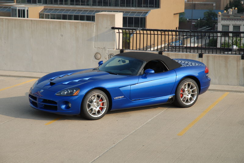2008 ZB Viper SRT-10 blue Fourth generation, Phase II Viper SRT-10