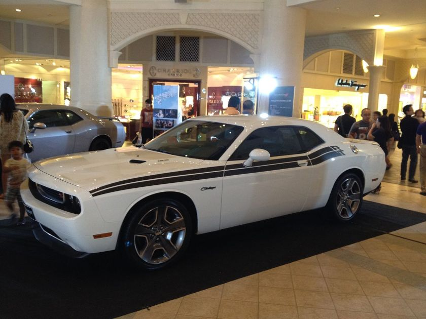 2013 Dodge Challenger RT White