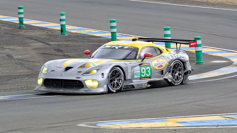 2013 SRT Viper GTS-R Le Mans LM GTE Pro Series Racing car
