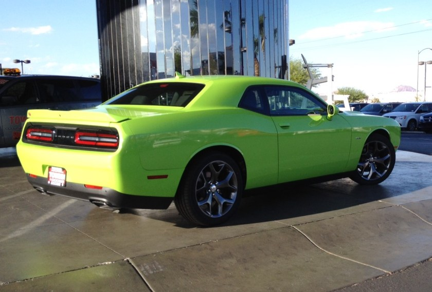 2015 Dodge Challenger RT in Sublime