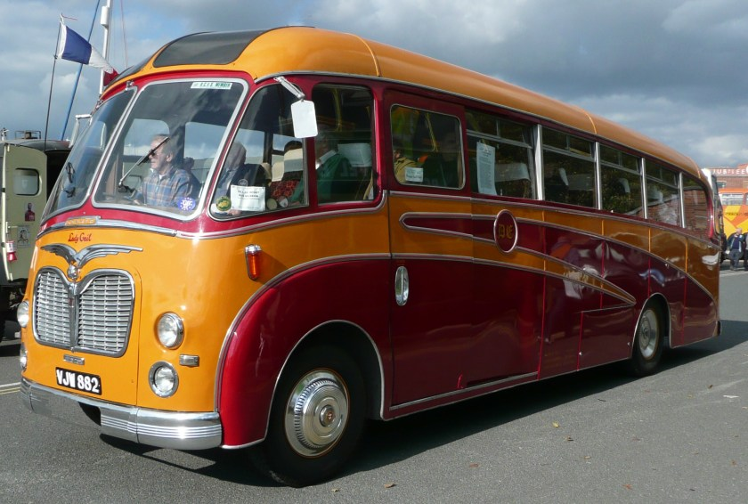 52 Commer TS3 Don Everall Tours VJW 882