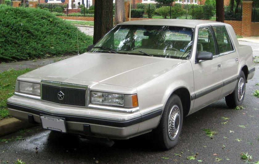 Chrysler Dynasty (Canada)