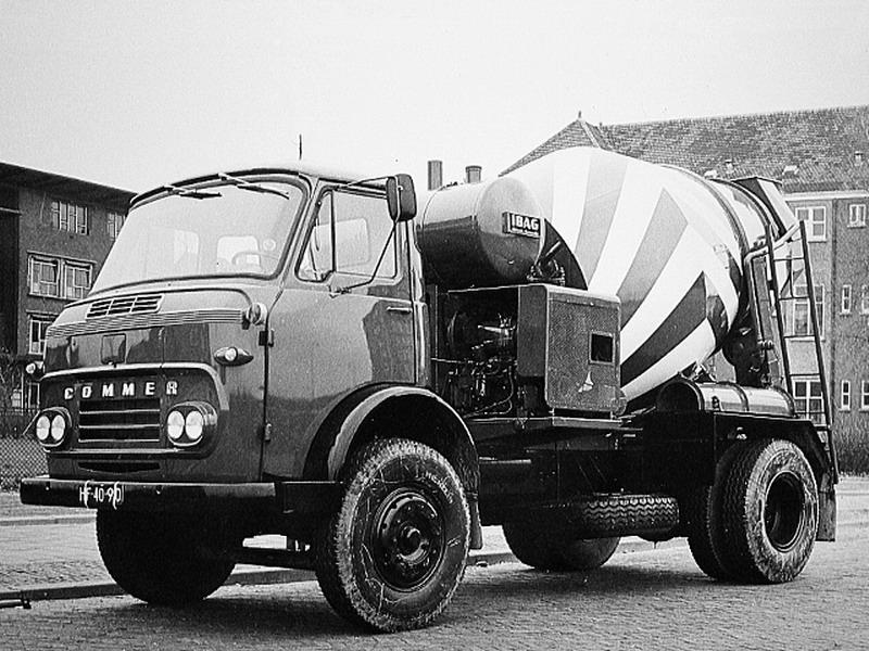 COMMER 2 Cementwagen