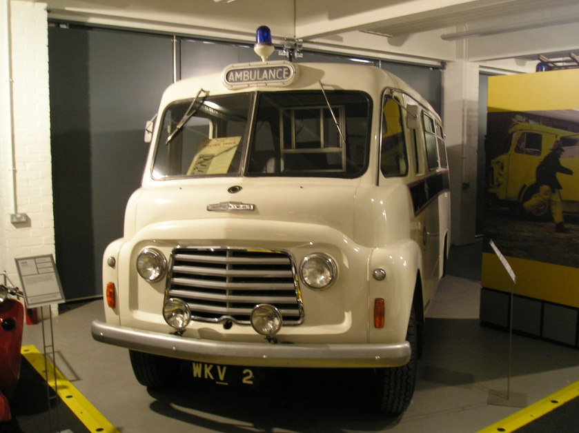 Commer BF based ambulance