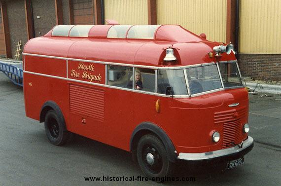 Commer Bus of Fire Engine