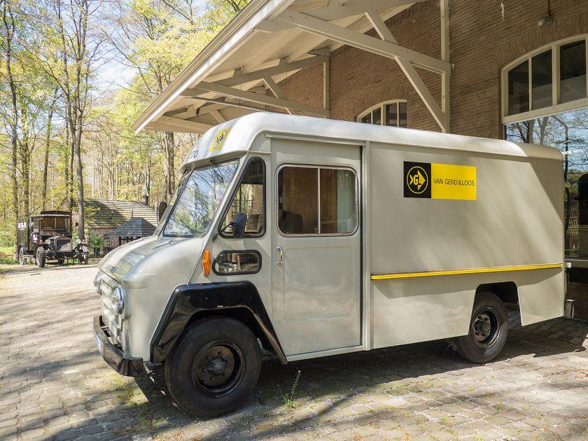 Commer Walk-Thru van as used by the Dutch company Van Gend & Loos