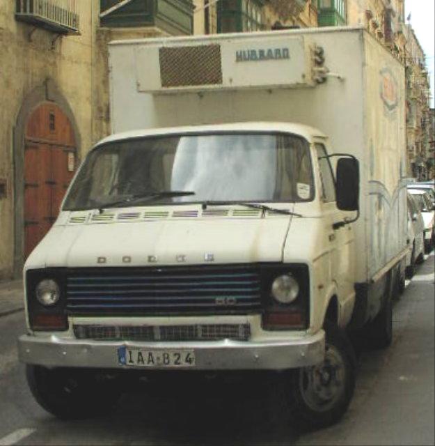 Dodge 50 with refrigeration unit for Benna-Milk in Malta