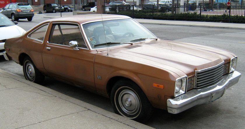Dodge Aspen two-door sedan (coupe) in Chicago
