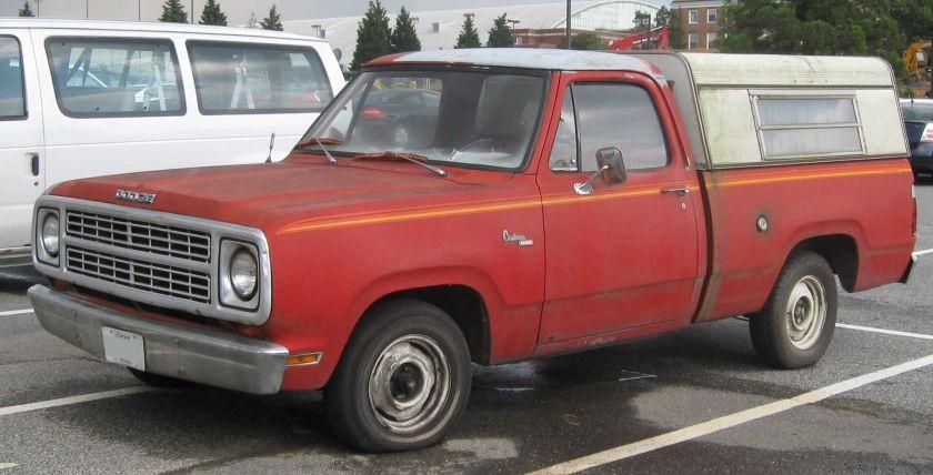 Dodge D100 Custom