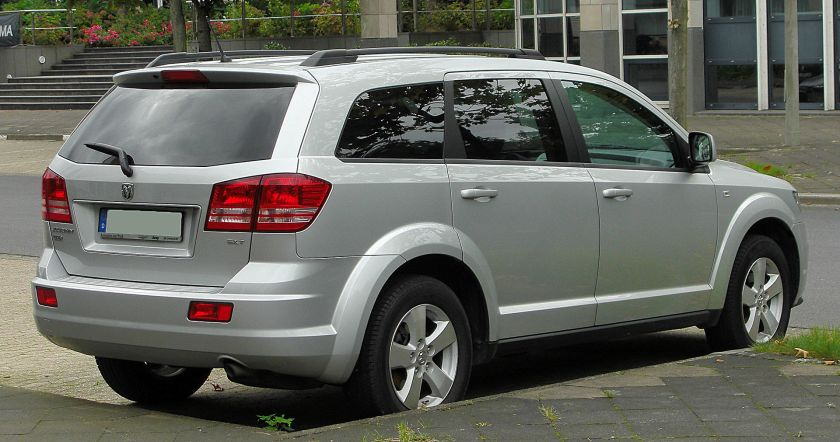 Dodge Journey SXT Diesel (Europe)