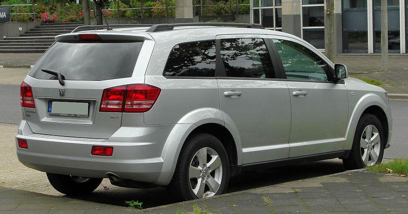 Dodge Journey SXT Diesel (Europe)
