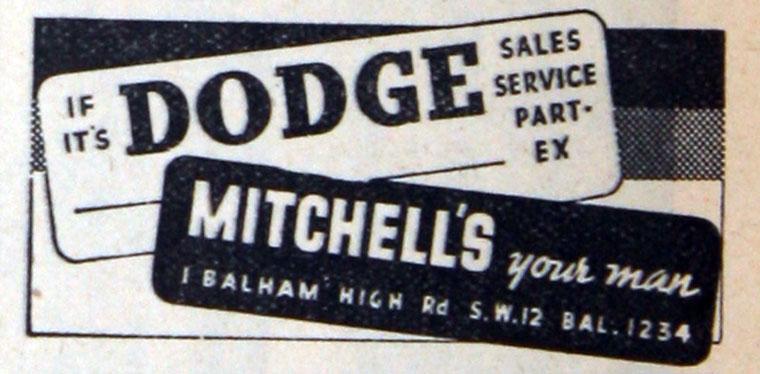 Dodge Mitchell's 1938