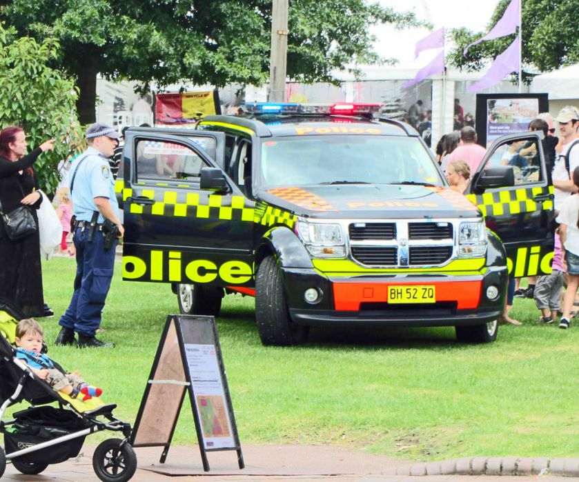 Dodge Nitro SXT in service with the New South Wales Police
