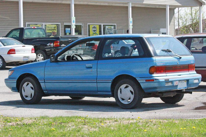 Dodge Plymouth-Colt-Rear 6th gen