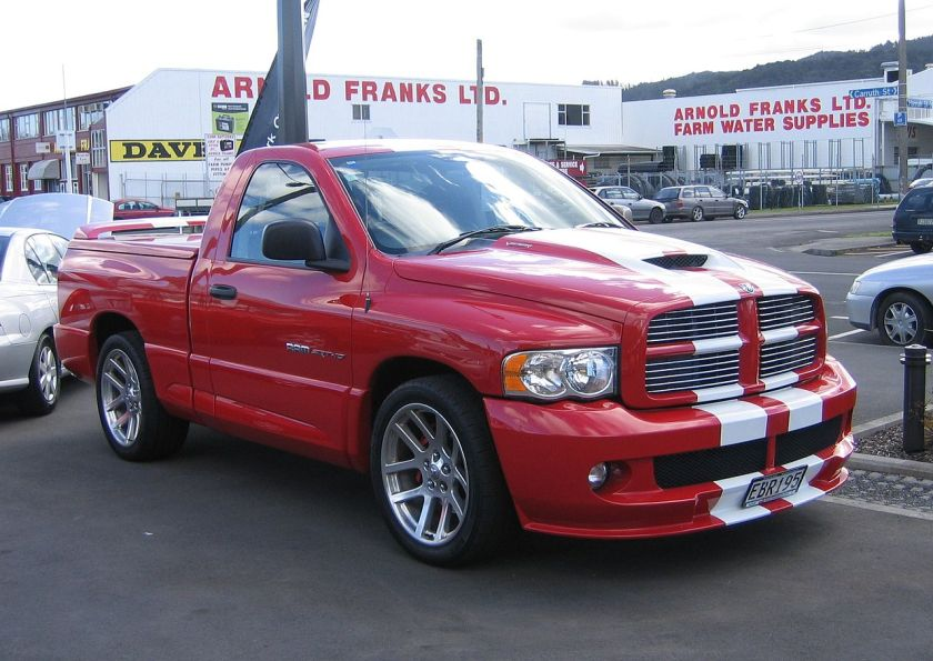 Dodge Ram SRT was created by DaimlerChrysler's PVO (Performance Vehicle Operations) division