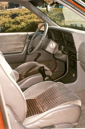 Dodge Spirit RT interior