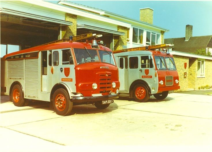 Karrier and Commer Fire appliances