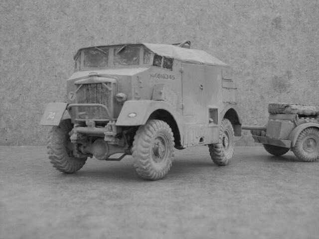 Karrier KT4 Spidier Gun Tractor