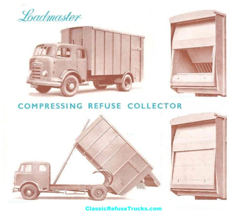 Karrier Loadmaster Refuse Trucks