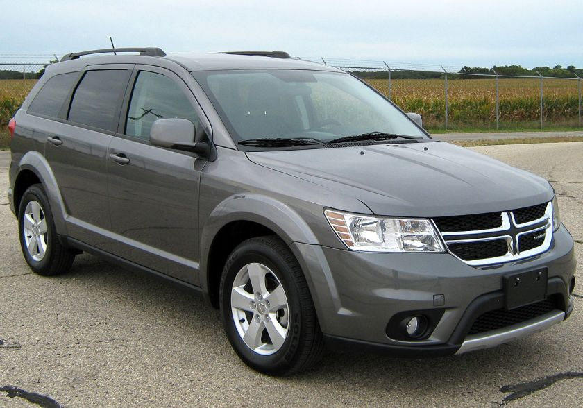 Post-facelift 2012 Dodge Journey SXT