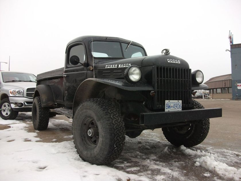 Power Wagon WM-300. This model was sold into the mid-1960s